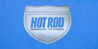Hot Rod Wall Hanging 12""